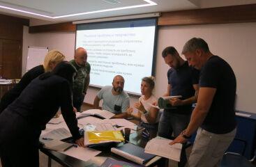 В сентябре традиционно состоялись Выездные школы по программе МВА