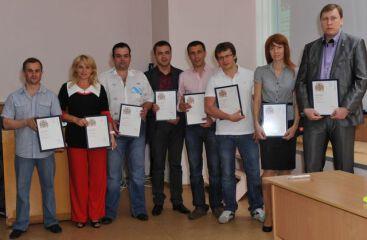 Церемония вручения квалификационных документов