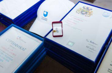 Торжественное вручение Сертификатов и Дипломов МВА