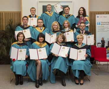 Вручение Сертификатов и Дипломов МВА