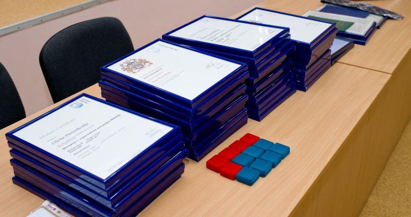 Торжественное вручение Сертификатов и Дипломов